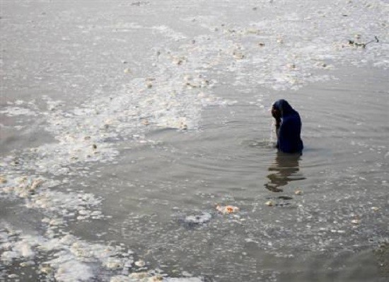 River Ganga is the sixth most polluted river in the world.