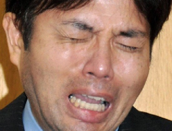 Japanese politician Ryutaro Nonomura's sobbing video has gone viral