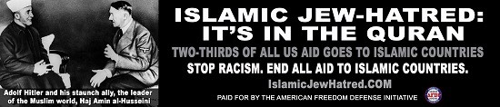 An anti-Islamic organization that plans to use Adolf Hitler as the face of an anti-Islamic ad campaign on Washington DC metro buses has stirred up controversy.