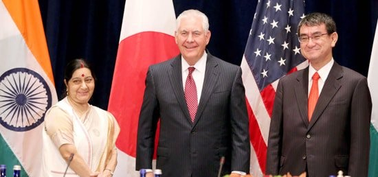 India Japan US Trilateral Foreign Ministerial Meeting