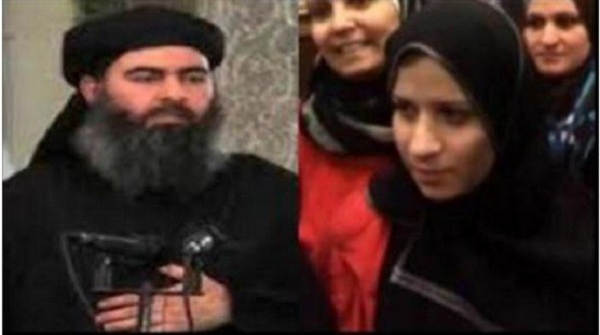 Photos of ISIS leade al Baghdadi's wife have gone viral