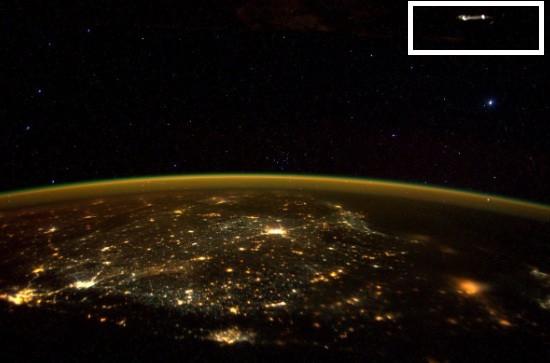 UFO India ISS