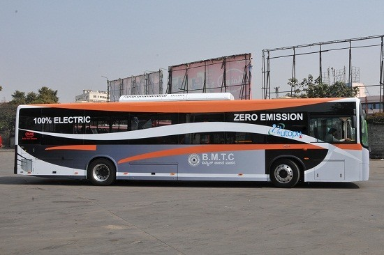 First Electric Bus introduced in Bangalore/BMTC