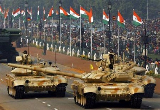 Indian Army T-90 tanks