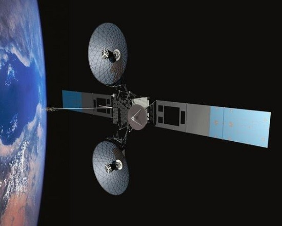 NASA uses satellites such Tracking and Data Relay Satellites to relay information in space/NASA