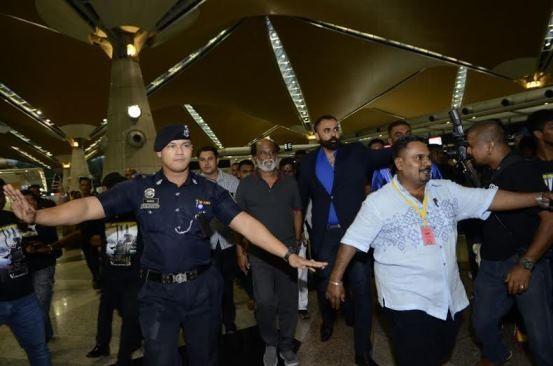 Kabali,Rajinikanth,Kabali shoot in Malaysia,Superstar Rajinikanth,Superstar Rajinikanth in Malayasia,Rajinikanth in malaysia
