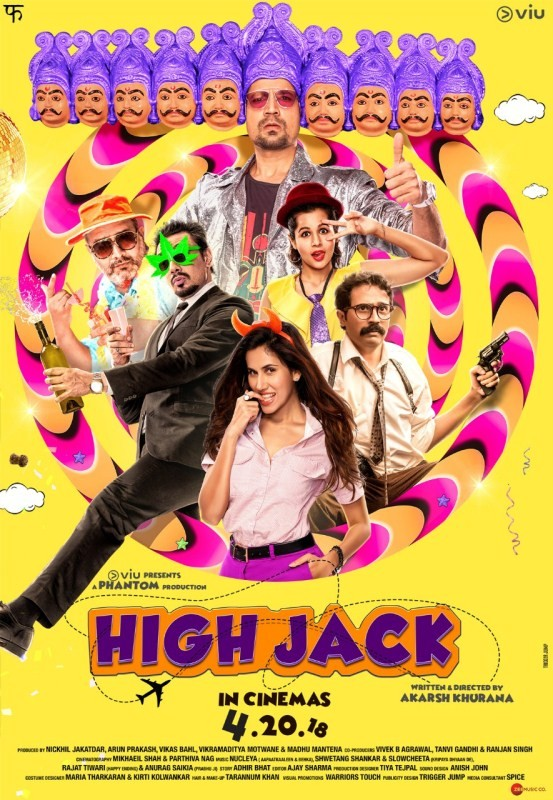 High Jack,High Jack first look,High Jack poster,Sumeet Vyas,Sonnalli Seygall,High Jack movie poster,High Jack movie pics,High Jack pics,High Jack images