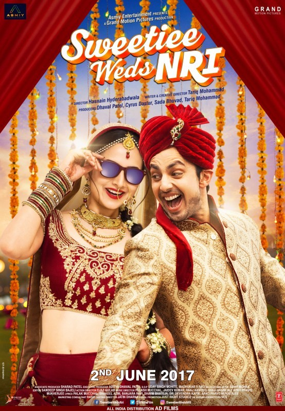 Sweetie weds NRI,Sweetie weds NRI poster,Sweetie weds NRI first look,Sweetie weds NRI first look poster,Sweetie weds NRI movie poster,Himansh Kohli and Zoya Afroz,Himansh Kohli,Zoya Afroz