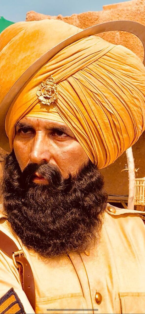 Akshay Kumar,actor Akshay Kumar,Akshay Kumar Kesari,Kesari first look,Kesari first look poster,Kesari poster,Kesari movie poster