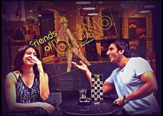 Ranveer Singh and Anushka Sharma