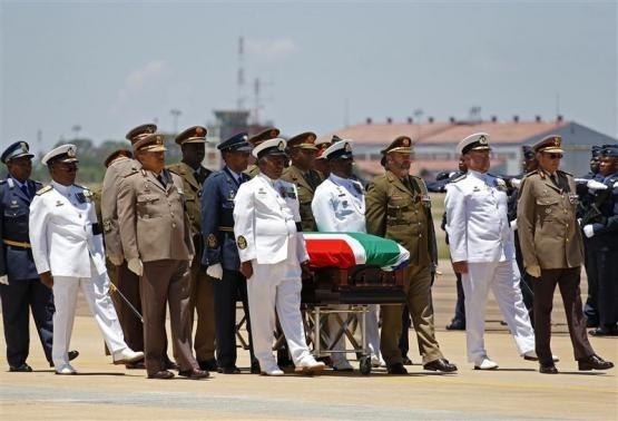 Mandela's Coffin