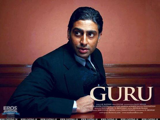 Abhishek Bachchan in 'Guru'