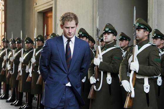 Prince Harry was on a three-day visit to Chile