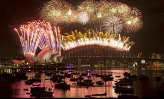 New years celebration in FIji and New Zealand