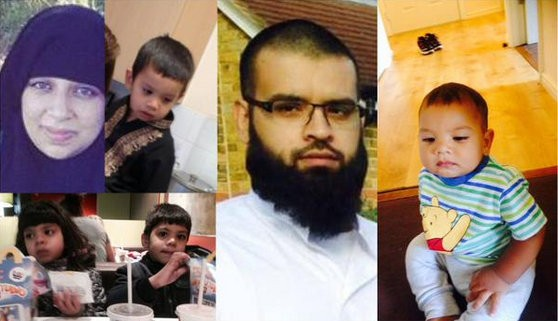 Thames Valley Police is appealing for information to help trace a family of six who have been reported missing and may be making their way to Syria.