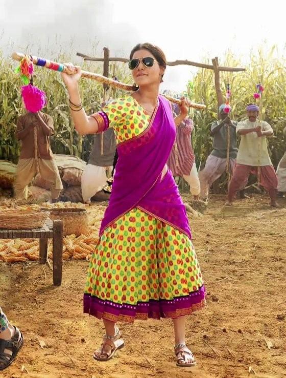 Samantha,actress Samantha,Samantha Ruth Prabhu,Samantha in Rangasthalam,Rangasthalam,Rangasthalam movie,Rangasthalam poster,Samantha poster,Samantha wallpaper,Rangamma Mangamma