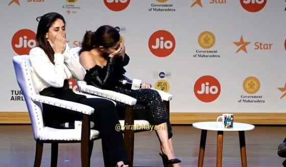 Alia Bhatt and Kareena Kapoor Khan at the event