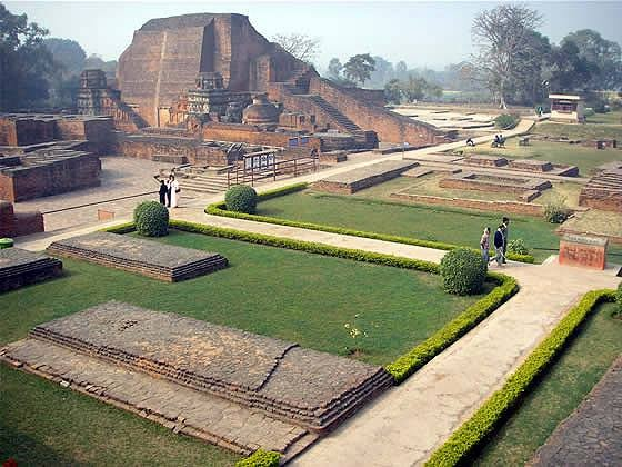 Ruins of Nalanda University Library