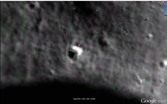 Alien Base on Moon?