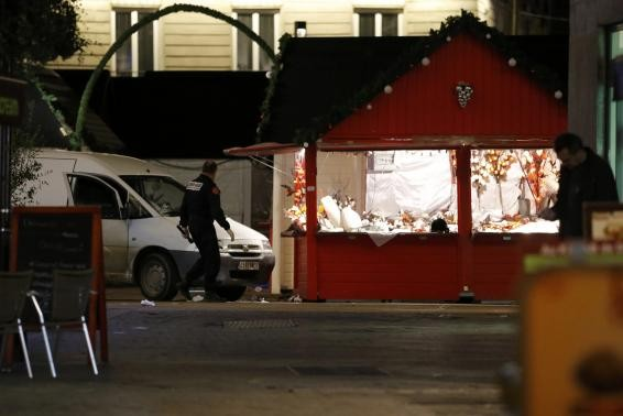 Fears of a wave of lone wolf attacks in France have intensified after a man rammed his van into a crowded Christmas market in Nantes.