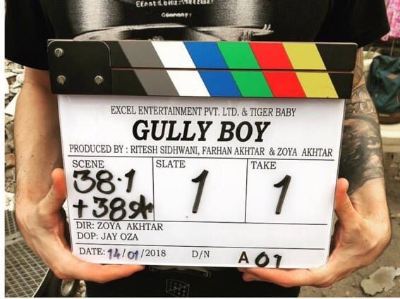 Alia Bhatt and Ranveer Singh,Ranveer Singh,Alia Bhatt,Gully Boy,Gully Boy launch,Gully Boy movie launch,Gully Boy movie pooja,Zoya Akhtar