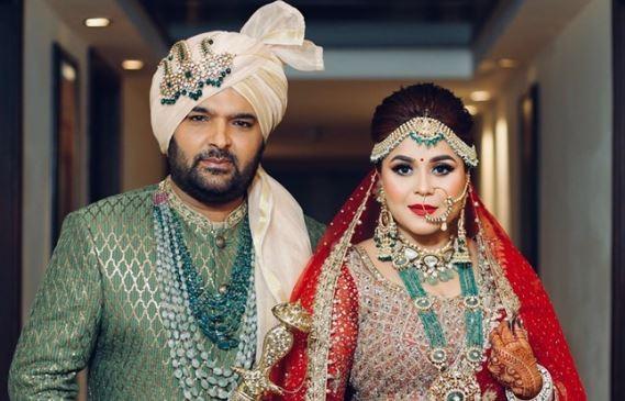 Kapil Sharma with wife Ginni
