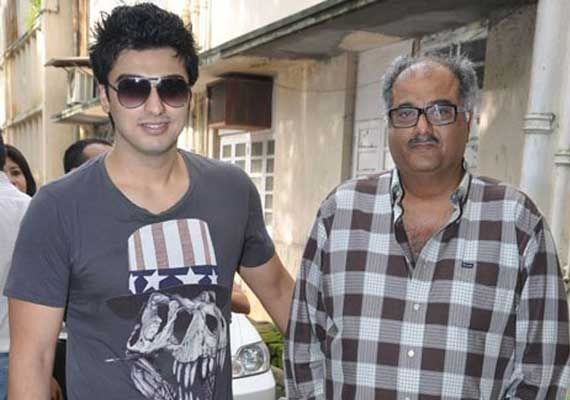 Arjun Kapoor and Boney Kapoor