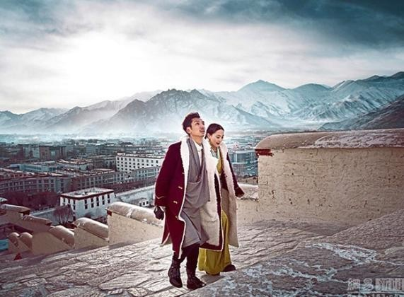 Tibetian couple,Gerong Phuntsok,Dawa Drolma,China,viral photo,social media