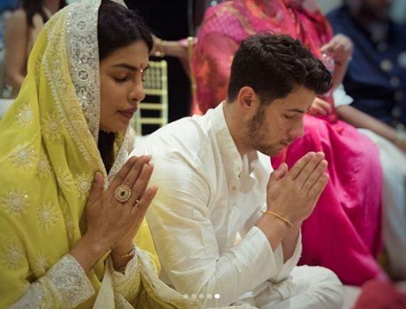 Priyanka Chopra and Nick Jonas engagement