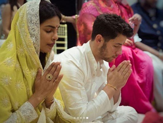 Priyanka Chopra and Nick Jonas engagement