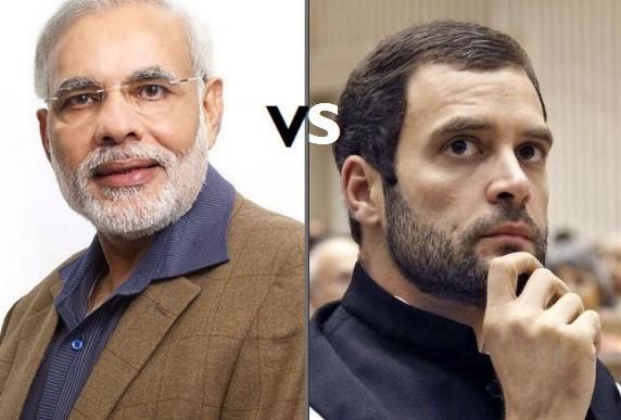 Narendra Modi vs Rahul Gandhi