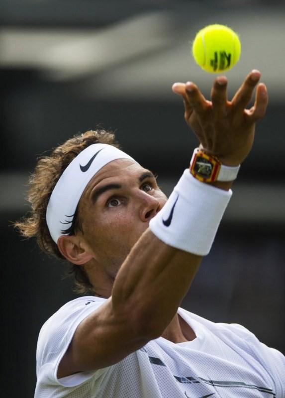 Rafael Nadal,Rafael Nadal wins John Millman,John Millman,Wimbledon 2017,Rafael Nadal at Wimbledon 2017,Rafael Nadal at Wimbledon