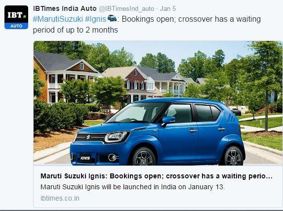 Maruti Suzuki Ignis, Ignis India, maruti Ignis, Maruti Suzuki Ignis launch, Maruti Suzuki Ignis price