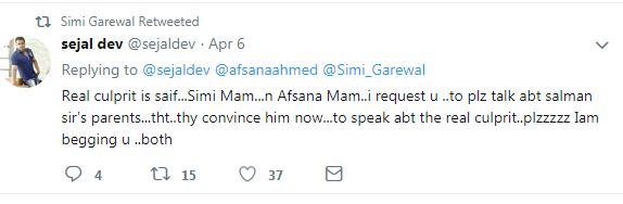 Simi Garewal tweet