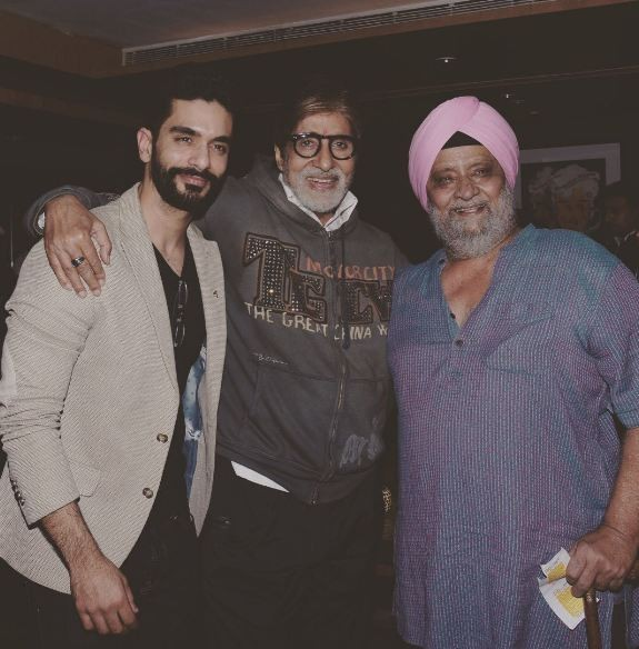Angad Bedi,Amitabh Bachchan,Big B,Amazon Prime's maiden India series,Angad Bedi gets special advice