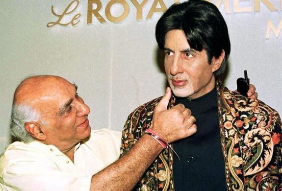 Yash Chopra, Amitabh Bachchan