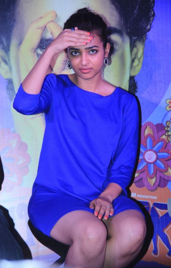 Radhika Apte at Hunterrr Open Discussion