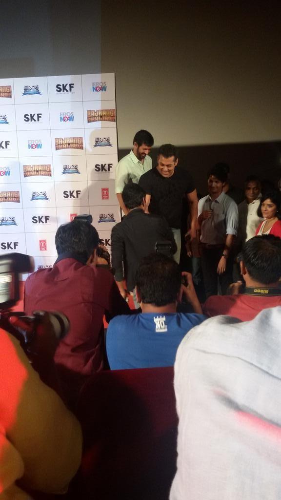 Bajrangi Bhaijaan Trailer Launch,Bajrangi Bhaijaan Trailer Launch pics,Salman Khan,Kareena Kapoor Khan,Kareena Kapoor,Bajrangi Bhaijaan Trailer Launch stills,Bajrangi Bhaijaan Trailer Launch photos,Bajrangi Bhaijaan Trailer Launch pictures