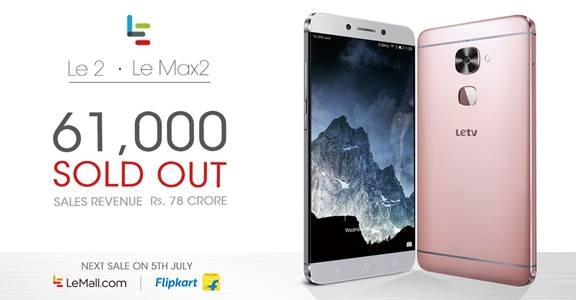 When will LeEco Le 2 and Le Max 2 smartphones be available again?