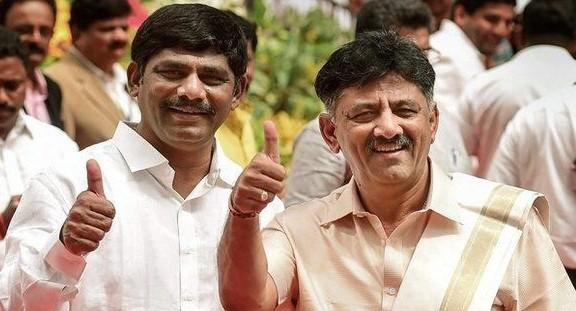 DK Suresh and DK Shivakumar