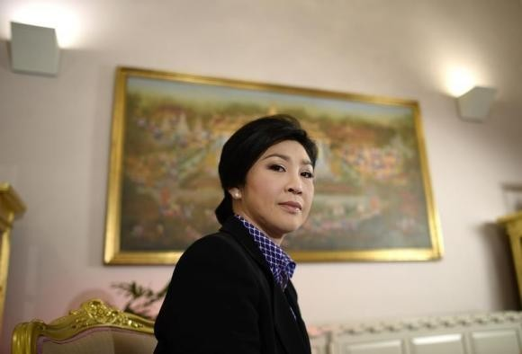 Thai PM Yingluck Shinawatra