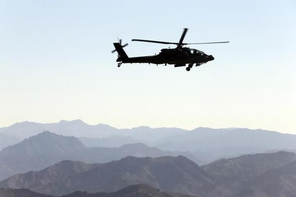 AH 64 Apache is a primary attack and destroy helicopter used by United States.