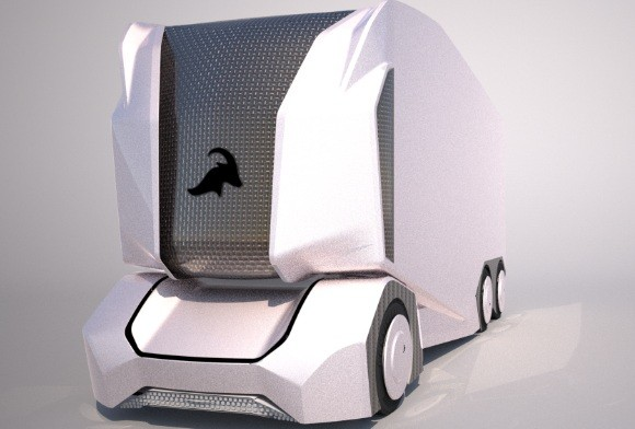 Einride's self-driving electric vehicle T-Pod