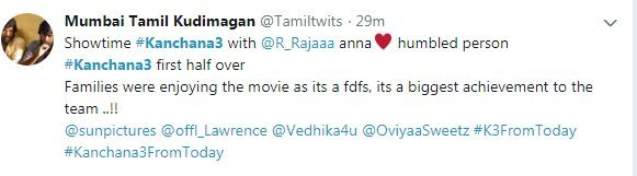 Kanchana 3 review,kanchana 3 movie review,muni 4 review,muni 4 movie reviews,raghava lawrence,oviya,vedhika,nikki tamboli