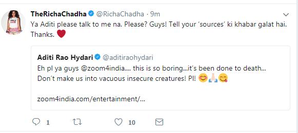 Aditi and Richa