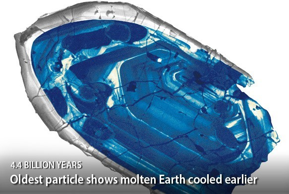 "Scientists Discover Gem, They Say It's the ""Oldest Piece of Earth Ever Found"""