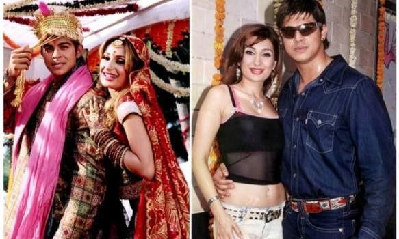 Sahil Khan and Negar Khan