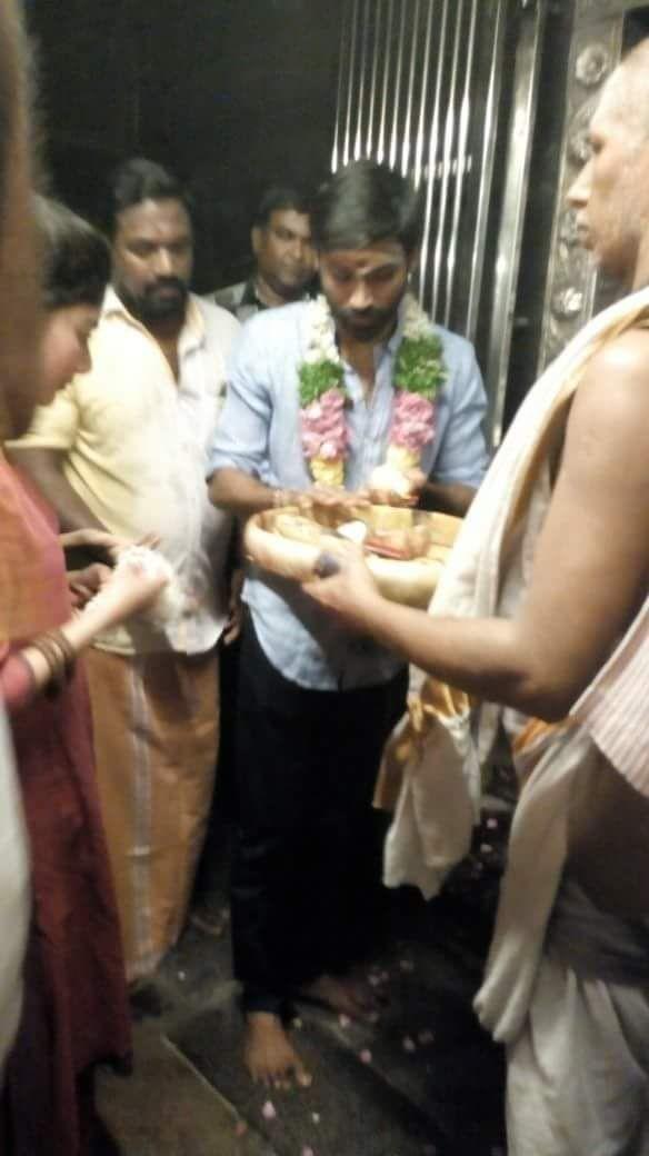 Dhanush and Sai Pallavi,Dhanush,Sai Pallavi,Maari 2,Maari 2 shooting