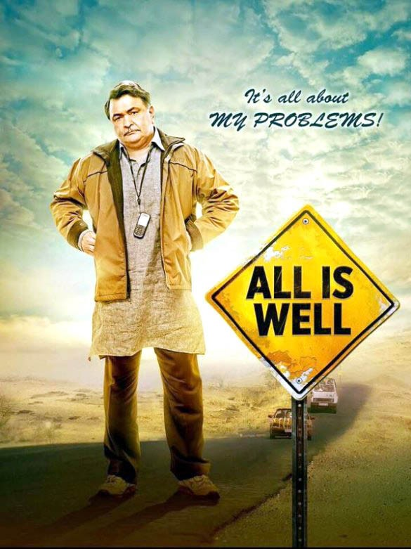All is Well First Look,All is Well First Look poster,All is Well First Look Revealed,Abhishek Bachchan and Asin,Abhishek Bachchan,Asin,Abhishek Bachchan and Asin in All is Well,All is Well poster,All is Well movie stills,All is Well movie pics