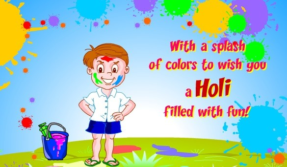 happy holi wishes to friends